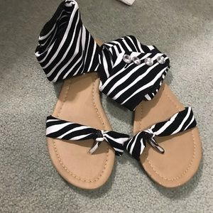 Shoes - Gladiator sandals new never worn